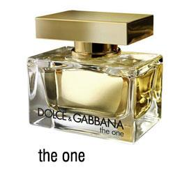 Dolce and Gabbana the one parfum